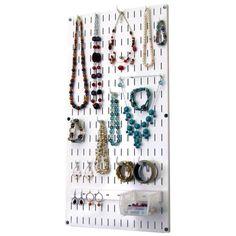 Minimalist Jewelry Organizer Wall HangingJewelry Holder Tie