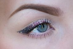Chanel Spring Haute Couture 2014 Fashion Show – Glitter Eyeliner Two Ways | The Makeup Lady