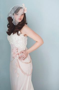 ROSE is a gorgeous vintage style art deco french by SashCouture1, $2900.00