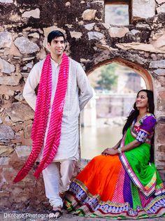 Jaipur India Traditional Lehenga. Colorful. Bright. Palace. Prince Princess look. Pre Wedding Photography