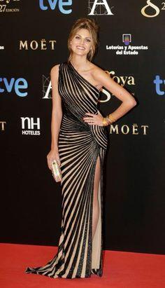 Amaia Salamanca at the Goya 2013 Cinema Awards