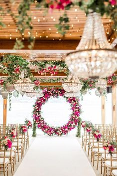 Fresh Ideas And Wedding Trends 2020 ❤ wedding ideas boho vintage ceremony with. Fresh Ideas And Wedding Trends 2020 ❤ wedding ideas boho vintage ceremony with pink flowers and round altar thanos asfis with velvet rose studio Wedding Ceremony Decorations, Wedding Themes, Wedding Designs, Wedding Colors, Diy Wedding, Rustic Wedding, Wedding Venues, Dream Wedding, Wedding Day