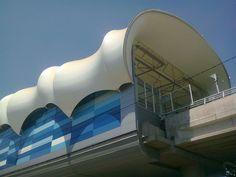 Estación Monte Tabor Metro de Santiago