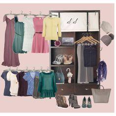 A soft summer closet