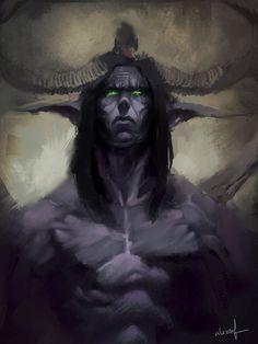 My favorite character from warcraft illidan stormrage Warcraft Heroes, Warcraft Art, World Of Warcraft, Character Modeling, Character Portraits, Illidan Stormrage, Elf Druid, Medieval, Cool Art