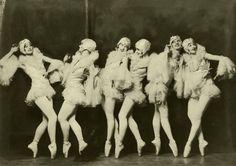 Ziegfeld gals, 1930s.