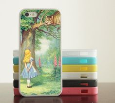Alice in Wonderland iphone case phone covers 4 case by ihappylife, $7.99