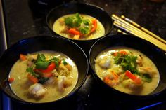 Modern Paleo Warfare: Paleo Green Curry (with noodlez!) aka Let me show you my ping pong trick