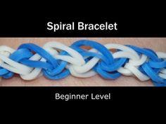 ▶ Rainbow Loom® Spiral Bracelet - YouTube