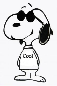 New Custom Screen Printed T-shirt Snoopy Sunglasses Cool Small -