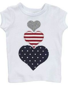 Perfecting Sew A T-shirt for Men Ideas. Immaculate Sew A T-shirt for Men Ideas. Sewing For Kids, Baby Sewing, Sewing Appliques, Creation Couture, Diy Clothes, Online Clothes, Ladies Clothes, Fourth Of July, Diy Fashion