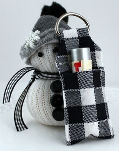 Key Chain Lip Balm Holder - May Arts Wholesale Ribbon Company