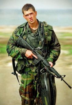 Marcus Luttrell US Navy Seal. the lone survivor of operation red wing.