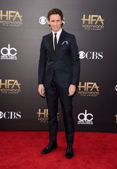 Pin for Later: All Your Favorite Big-Screen Stars Step Out For the Hollywood Film Awards Eddie Redmayne