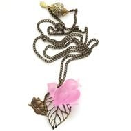 Big bird on a leash. Jewelry Necklaces, Jewellery, Big Bird, Costume Jewelry, Jewelry Making, Pendant Necklace, Crystals, Stone, Reading