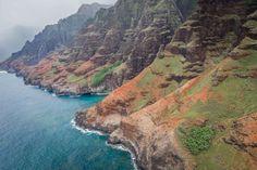 #cliff coast #hawaii #island #kauai #napali coast