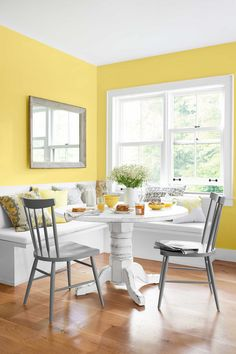 14 Warm Paint Colors - Cozy Color Schemes - warm yellow paint for living room