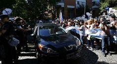 Entierran al fiscal Nisman en Buenos Aires