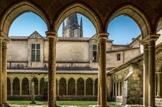 Saint-Émilion France, a UNECO World Heritage site, is a delightful medieval village known for its wine. Stroll,explore and sip outstanding wine! St Emilion, Medieval Town, Eurotrip, World Heritage Sites, Bordeaux, Barcelona Cathedral, The Dreamers, Saints, Louvre