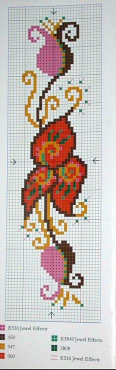cross stitch - bookmark