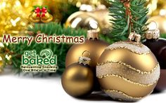 Wishing U a Christmas filled with a whole lot of fun and cheer. Merry Christmas! #Christmas #Getbaked
