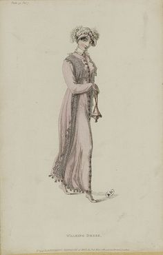 Walking dress, 1812