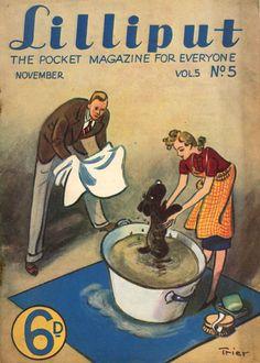 Walter Trier | Lilliput Magazine 1939