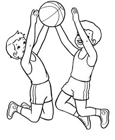 Free Printable Sports Coloring Pages