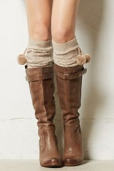 these leg warmers are so cute!