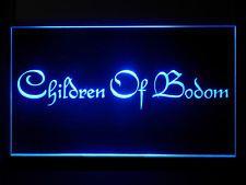 P155B Children of Bodom Bar Pub Sport Game Champion Star Light Sign