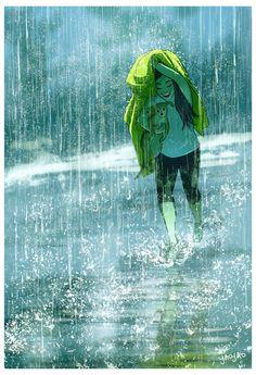 Eeee  chuva