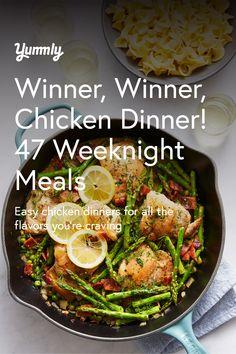 Baked Greek Chicken, Ginger Chicken, Cheesy Chicken, How To Cook Chicken, Lamb Recipes, Easy Chicken Recipes, Easy Weeknight Meals, Easy Meals, Caprese Chicken