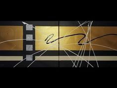 Abstract acrylic painting - Abstract art - Polaris by Roxer Vidal - YouTube
