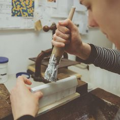 Heartmade from beginning to end - Did you know that every ReBlock is handmade by bookbinders in Graz? From Beginning To End, Did You Know, Notebooks, Knowing You, Journey, Handmade, Instagram, Graz, Hand Made