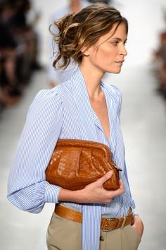 Michael Kors #NYFW  http://www.unadonna.it/moda/moderne-pin-up-per-la-primavera-estate-2014-di-michael-kors/43426/