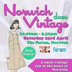 And of course our 'free for customers' #vintagefair at @theforumnorwich on Saturday! #vintagehomewares #vintagejewellery #vintagefashion #bdvoutandabout #britaindoesvintage