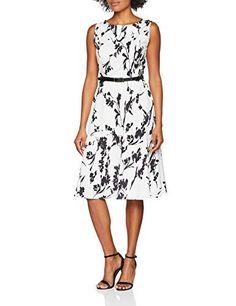 GRACE KARIN 50s Blumenkleid Knielang Petticoat Kleider Vinatge Rockabilly Kleid CL6086 - Gothic-Steampunk-Rockabilly