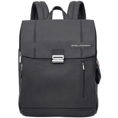 backpad R.a.f. blue computer backpack with ipad® compartment - Piquadro Galileo collection | Online shop