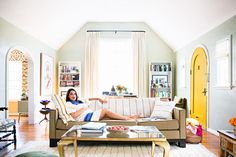 With a baby on the way, Heather Taylor renovated her Los Angeles home to balance work and play.