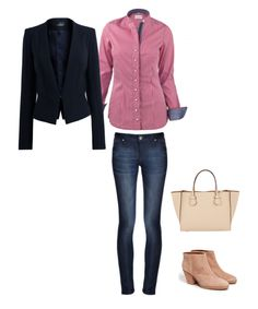 """Outfit, byMi Blouse """"Davos Red"""""""