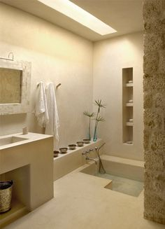 Bath Douche Marocaine, Salle De Bain Marocaine, Salle De Bain Spa, Salle De
