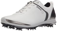 Awesome The thinner midsole on these mens biom gtx golf shoes by Ecco brings players closer to the playing surface for oustanding ground control! Best Golf Shoes, White Golf Shoes, Womens Golf Shoes, Shoes Men, 12th Man, New Nike Air, Golf Outfit, Ladies Golf, Partner
