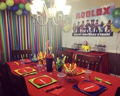 7th Birthday, Happy Birthday, Birthday Parties, Birthday Ideas, Roblox Cake, Ranger, Kids, Party Ideas, Happy Brithday