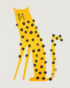 Fox And Velvet Cheetah Illustration, mid century animal, Zoo animal design, Safari animal design Speedy Cheetah Art And Illustration, Animal Illustrations, Creative Illustration, Illustrations And Posters, Plakat Design, Safari Animals, Yellow Animals, Mellow Yellow, Animal Design