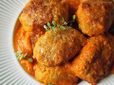 Zajączki w sosie z pomidorów - kuchnia podkarpacka Meat, Chicken, Food, Essen, Meals, Yemek, Eten, Cubs
