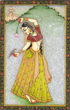 Our collection features a wide range of Miniature & Watercolor Paintings on Marble Plates and Tiles. Rajasthani Miniature Paintings, Rajasthani Painting, Rajasthani Art, Pichwai Paintings, Mughal Paintings, African Art Paintings, Madhubani Art, Madhubani Painting, Arte Krishna