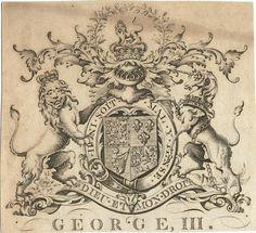 [Bookplate for] George III.