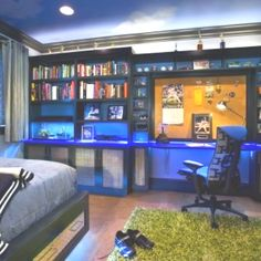 Keegan- Teen boys room - built in's