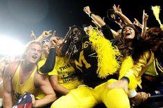 Michigan football!!  Go Blue! yaa