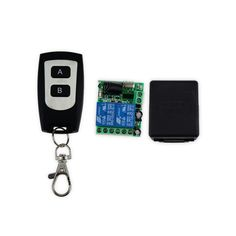 DC12V access control wireless remote control with 2 channel+remote receiver+black shell up to 50m-JS323 #CLICK! #clothing, #shoes, #jewelry, #women, #men, #hats